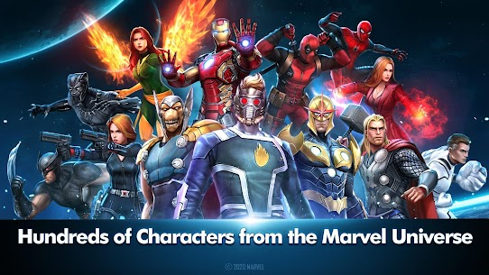 MARVEL Future Fight Mod Apk 6.1.0 (Unlimited Money + Gold) 1