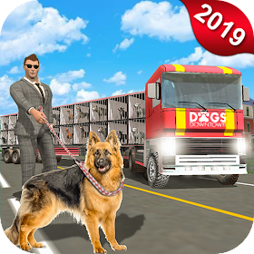Dog Transport Truck Driver - Pet Dog Simulator