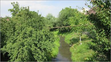 Photo: Turda - Str. Ion Corvin - vedere de pe podul   peste  Pârâu Racilor - 2018.06.11