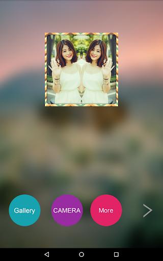 玩免費攝影APP|下載ミラー写真のコラージュ app不用錢|硬是要APP