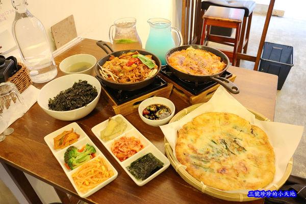 哇優WAYO韓式料理.台北東區韓國料理.必點超多汁的炸雞塊.海鮮煎餅香酥料好實在.提供WIFI