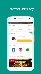 Yoga VPN – Free Unlimited & Secure Proxy & Unblock 4