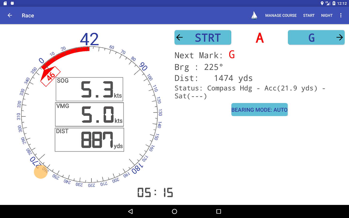 RaceTac For Sailboat Racing- screenshot