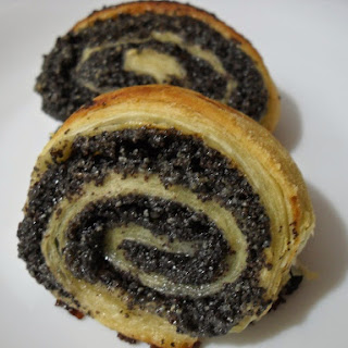 Easy Danish Poppy Seed Scrolls