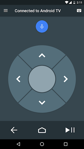 Android TV Remote Control Android App Screenshot