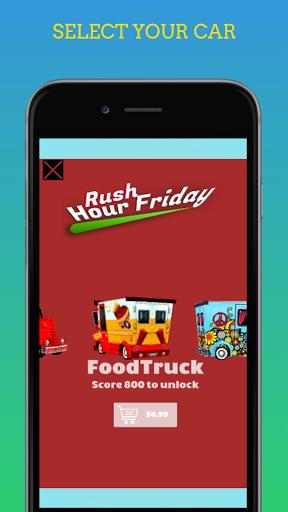 Code Triche Rush Hour Friday - Jeu de Course de Voiture mod apk screenshots 2