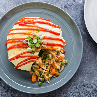 Omurice (Omelet with Fried Rice).