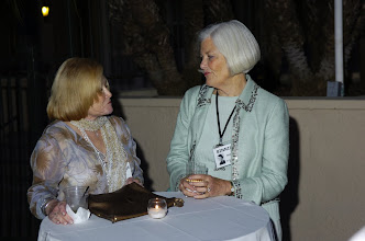 Photo: Charlene Norton and Binnie Busby Beaumont