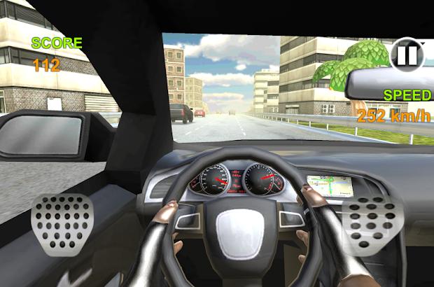 Extreme Racing In Car 3D Free- screenshot thumbnail