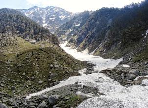 Photo: glaciers towards Druni Lake
