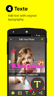 Sticker & Filtre for Snapchat- screenshot thumbnail