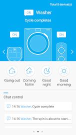 Samsung Smart Home Screenshot 1