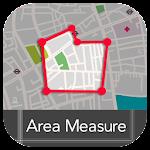 GPS Area Measure Icon