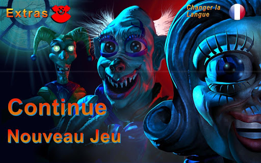 Zoolax Nights:Evil Clowns Free  captures d'écran 1