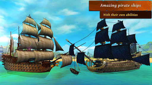 Ships of Battle - Age of Pirates - Warship Battle  screenshots 11