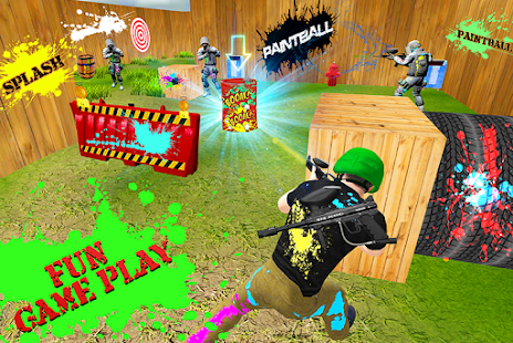Paintball Shooting Combat Arena - náhled