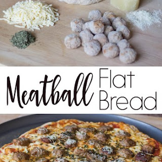 Meatball Flat Bread