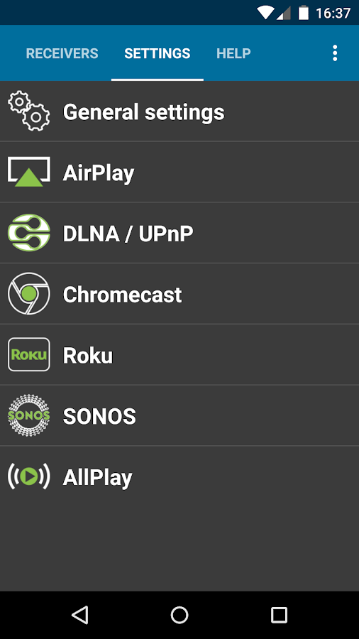 AirAudio - stream your music!- screenshot