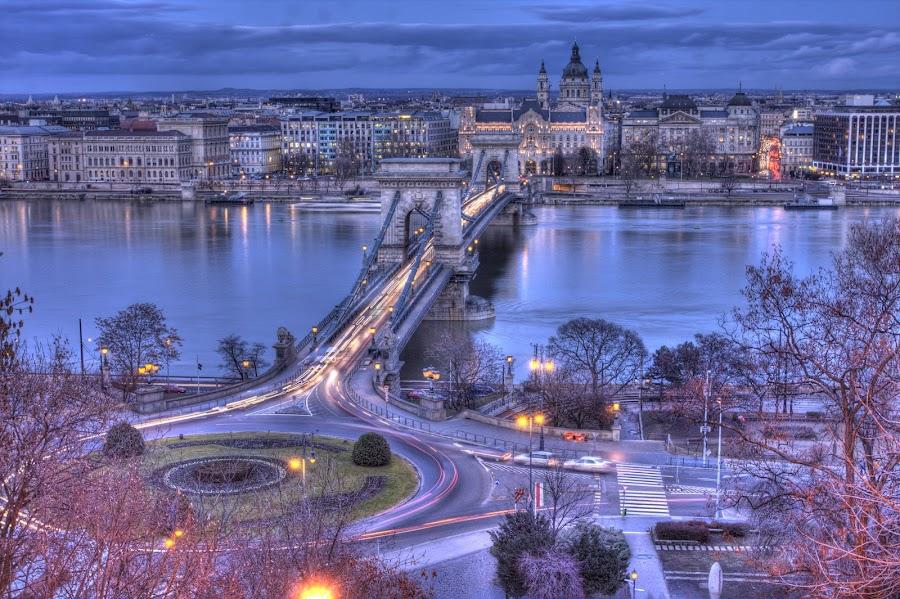 Budapest by Diána Barócsi - City,  Street & Park  Vistas ( hungary, budapest, travel, city )