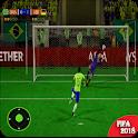 football world cup soccer league 2018 icon