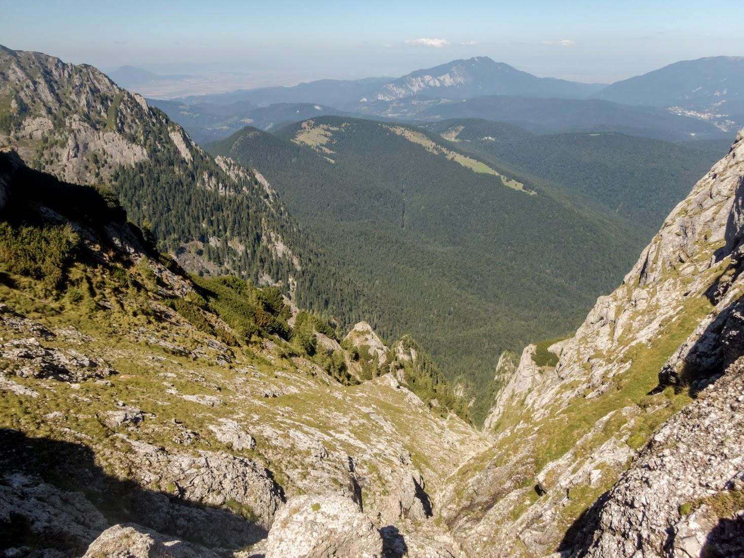 Valea Colţilor – Gălbinele Secundar (Munţii Bucegi)