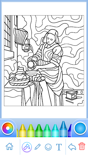 Coloring Book for Adults filehippodl screenshot 3