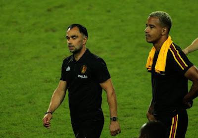 Faes et Benson blessés, Walem rappelle Senna Miangue et Samy Mmaee