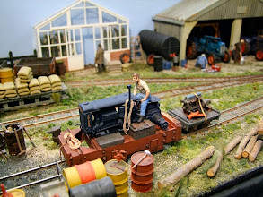 Photo: 019 Two Sisters Farm, 1:32 scale on 16.5mm gauge by Peter Marshall.
