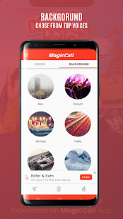 MagicCall – Voice Changer App Screenshot