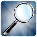 Magnifying Glass with Flashlight icon