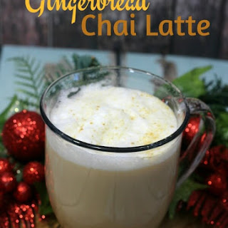 Gingerbread Chai Latte