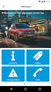 Volkswagen Service Germany – Miniaturansicht des Screenshots