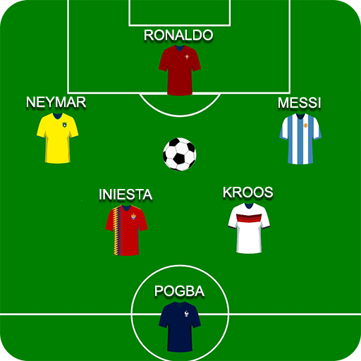 Football Squad Builder:  Strategy, Tactic, Lineup