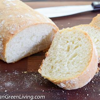 A tasty and crispy Ciabatta Bread Machine Recipe made easy.