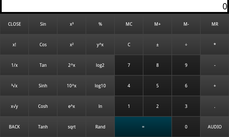 REAL CALCULATOR CALCNEXT- screenshot