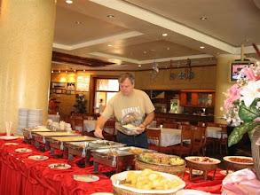 Photo: snídaně v hotelu