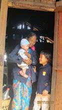 Photo: Jia Jan village: baby boy and mum