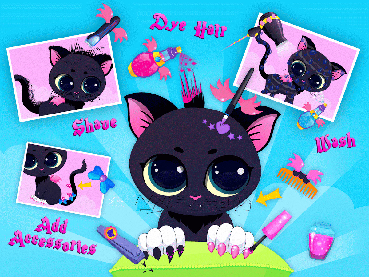 Little Witches Magic Makeover- screenshot
