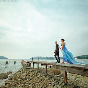 by Nalson Chong - Wedding Bride & Groom
