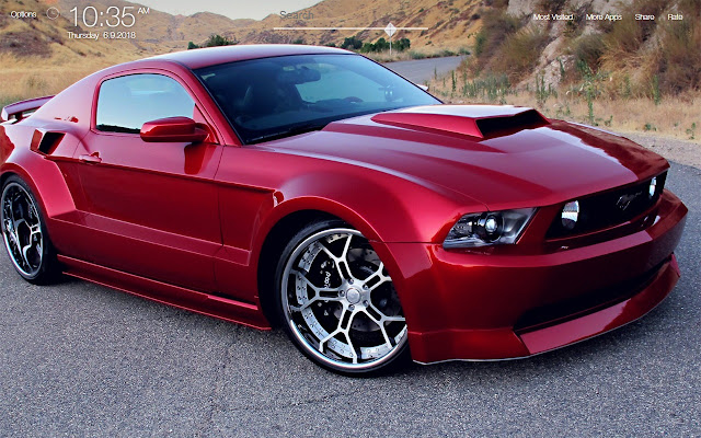Ford Mustang Wallpapers FullHD New Tab