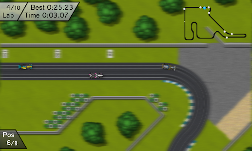 Electric Racing Free- screenshot thumbnail