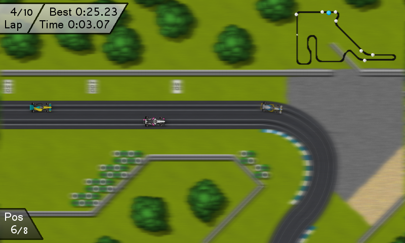 Electric Racing Free- screenshot