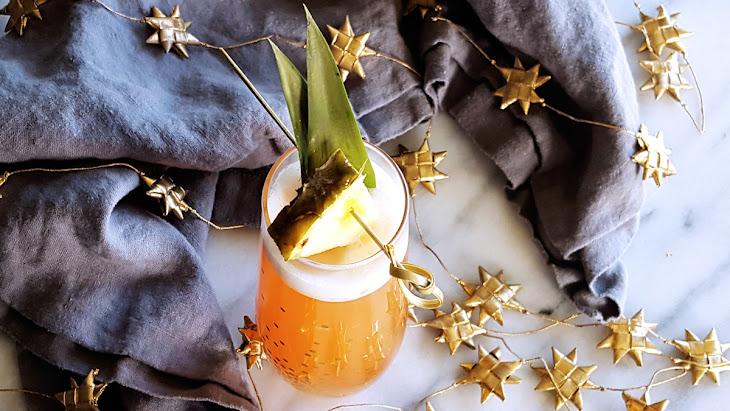 Ginger Jungle Bird Sparkling Cocktail Recipe