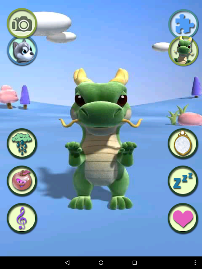 Talking Dragon- screenshot