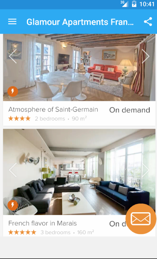 Glamour Apartments France- screenshot