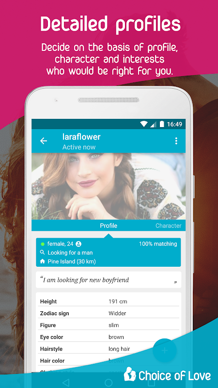 Free Dating & Flirt Chat - Choice of Love screenshots
