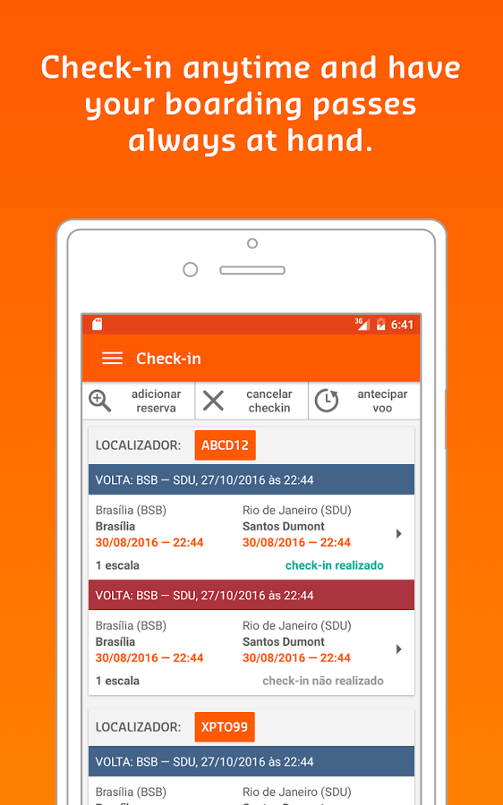 GOL | Airline Tickets- screenshot