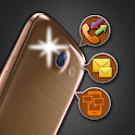 Flashlight Alert on Call / SMS icon