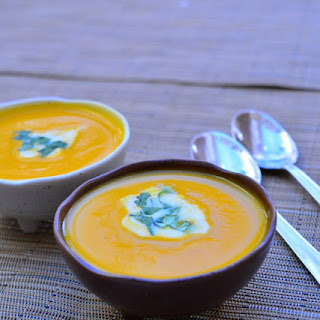 Roasted Butternut Pumpkin Soup with Chilli and Ginger Recipe