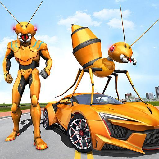 Ant Robot Car Transforming Games – Car Robot Game